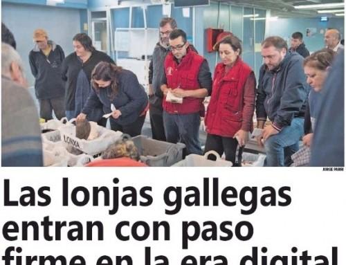 Las lonjas gallegas entran con paso firme en la era digital